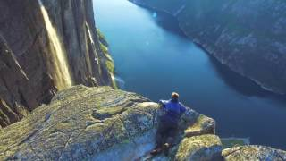Spectacular Norway - from the air ( 12 million views on Facebook)