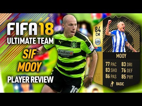 FIFA 18 SIF MOOY (84) PLAYER REVIEW! FIFA 18 ULTIMATE TEAM!