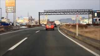 【車載動画】国道46号盛岡西バイパス下り線 永井→前潟