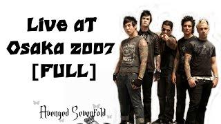 Download lagu Avenged Sevenfold Live Osaka 2007 MP3