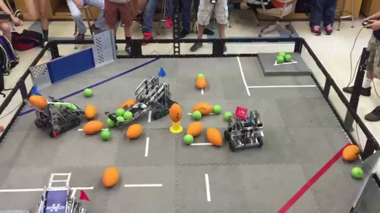 Vex Robotics Classroom Competition Foooosball Frenzy Youtube