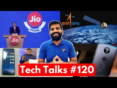 Tech Talks #120 - Jio Prime Membership Offer,  HTC U Ultra U Play, Android One, Note 7 India