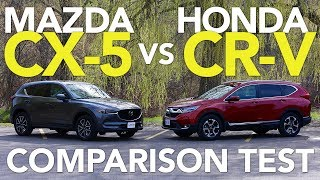 2017 Mazda CX-5 Vs 2017 Honda CR-V Comparison Test