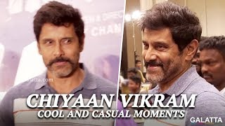 Exclusive: We bet you will Fall in LOVE with Vikram after seeing this!   Sketch Success Meet