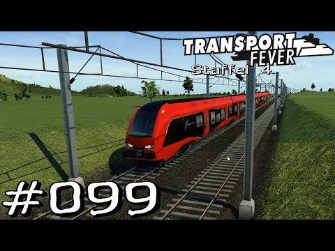 Transport Fever S4 #099 - Stadtbahn Aschaffenburg [Gameplay German Deutsch]