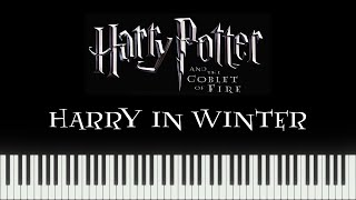 Harry Potter 4 - Harry in Winter (Synthesia Piano)