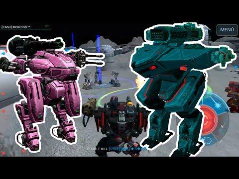 ME ENFRENTO A OLD SCHOOLS Y GANAN!!! (OMG) - War Robots