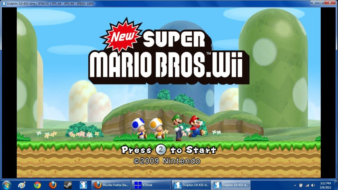 how to open wii iso on pc