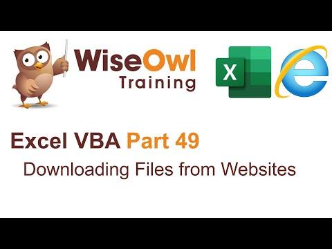 VBA - scraping websites videos | Excel VBA Part 49