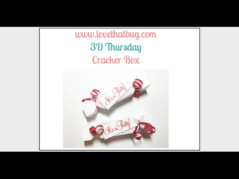 Cricut Explore Party Cracker Box