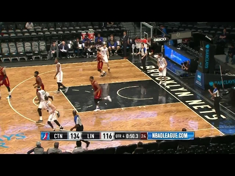 Jonathan Holmes posts 25 points & 9 rebounds vs. the Nets