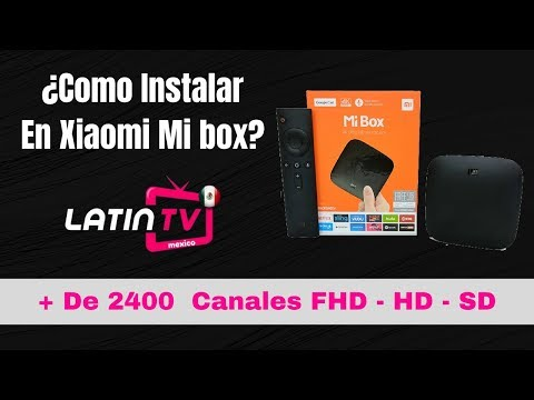 Latin Tv HD en Tv Box | Xiaomi Mi Box | Android TV - Mas de