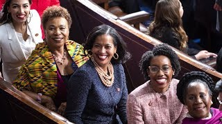 New class of female House Democrats gather on steps of US Capitol – watch live