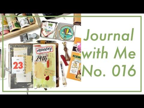 Journal with Me No. 016 | Midori Traveler's Notebook