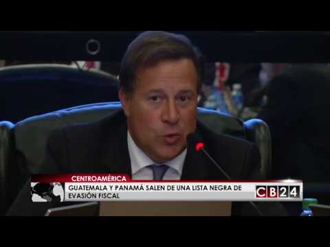 Guatemala y Panamá salen de una lista negra de evasión fiscal