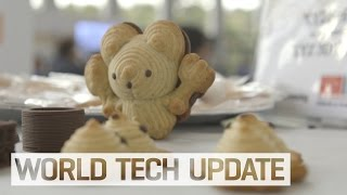 3D Printing In Cookie Dough