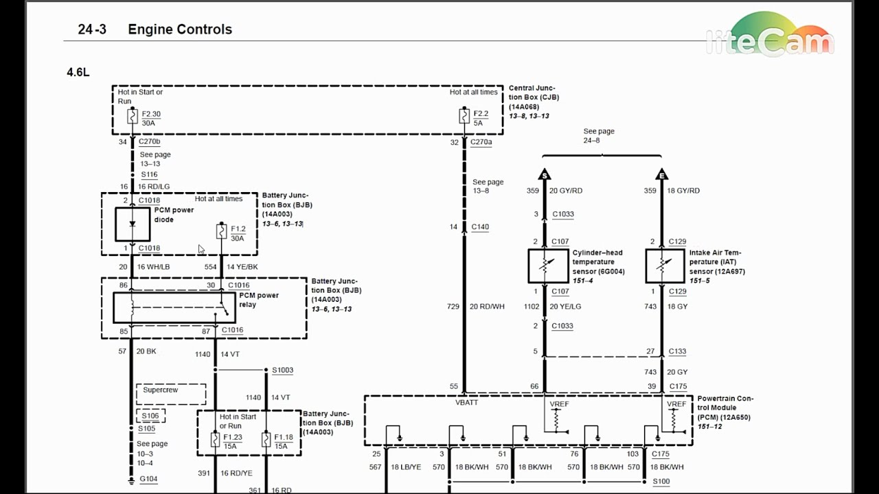 Wiring    Diagram    Diagnostics  1  2003    Ford    F150 No Start