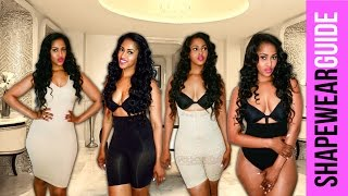 HOW TO WEAR BODY SHAPERS & SPANX | GET SLIM THIGHS, BUTT, AND STOMACH | GET INSTANT CURVES
