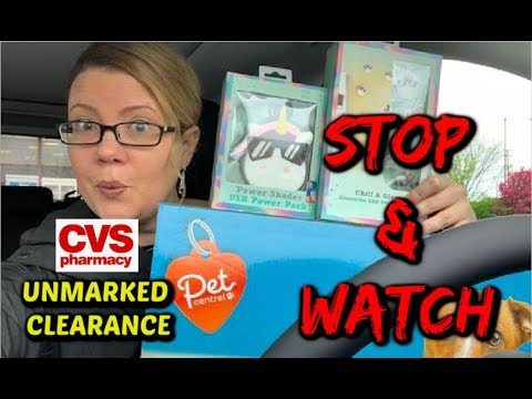 CVS STOP 🛑 & WATCH VIDEO   HOT 90% UNMARKED CLEARANCE   HOLD CRT'S FOR 5/19!!!