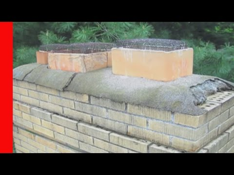 How to Repair a Damaged Chimney Crown
