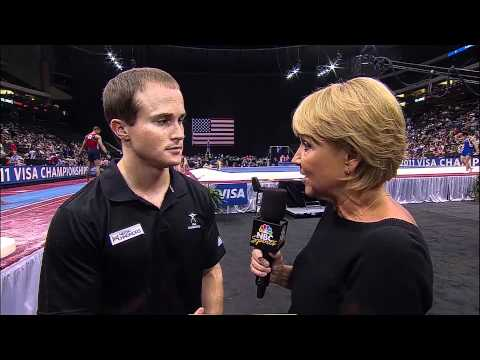 Paul Hamm - Interview - 2011 Visa Championships - Men - Day 2