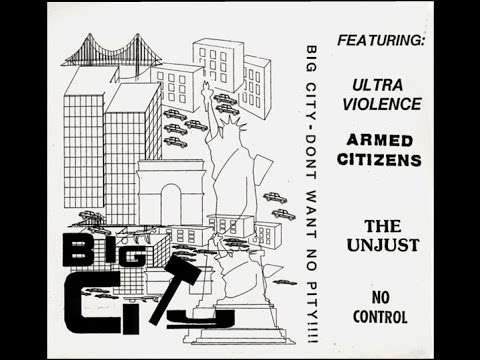VA - 1984 'BiG CiTy - DoN'T WaNT NO PiTy!' ( BCR5 7iNCh CoMP EP ) - EaRLy 80's NYHC CLaSSiC!!
