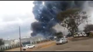 بالفيديو: إصابات في انفجار مخزن ألعاب نارية في مستوطنة وسط الأرض المحتلة