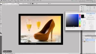 Tutoriel Video : Creer cadre et signature sous photoshop