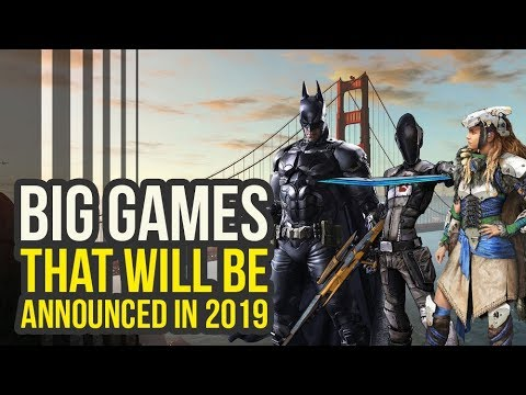 Big Games That Will Likely Be Announced In 2019 (Horizon Zero Dawn 2, Borderlands 3 & More!)