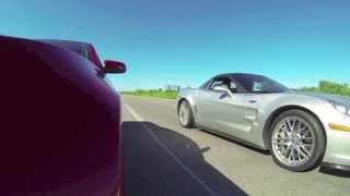 2013 gt500 vs 2013 corvette zr1