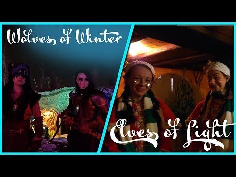 Elves Of Light Arrive - Chased By The Wolves Of Winter! - Evermore Park