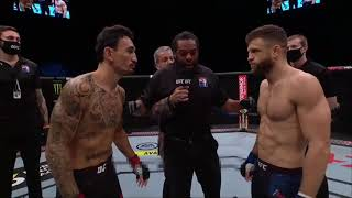 Max Holloway vs Calvin Kattar Highlights