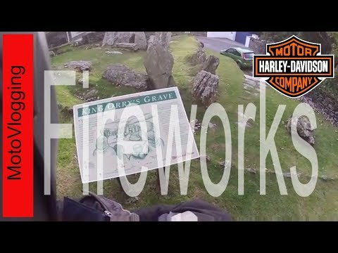 MotoVlog with Douglas Fireworks - Isle of Man