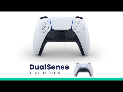 Sony Reveals NEW PlayStation 5 DUALSENSE Controller (+ REDESIGN!)