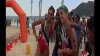 SPORT: Nicholai Blackman & Zoe Anthony Emerge Winners In Maracas Open Water Swim