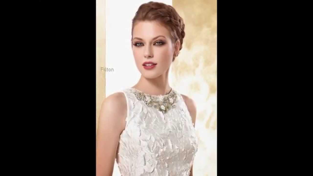 Vestidos de novia cortos 2015