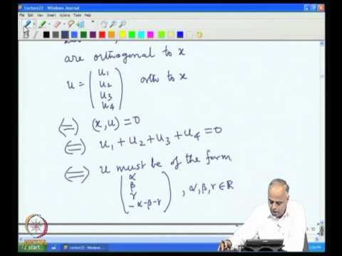 Inner Product and Orthogonality Part 1