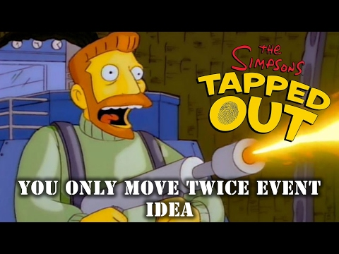 The Simpsons Tapped Out You Only Move Twice Event Idea
