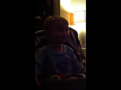 Bailey boy growling and saying whoooo
