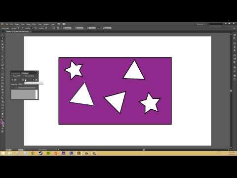 Adobe Illustrator CS6 for Beginners - Tutorial 54 - Compound Paths