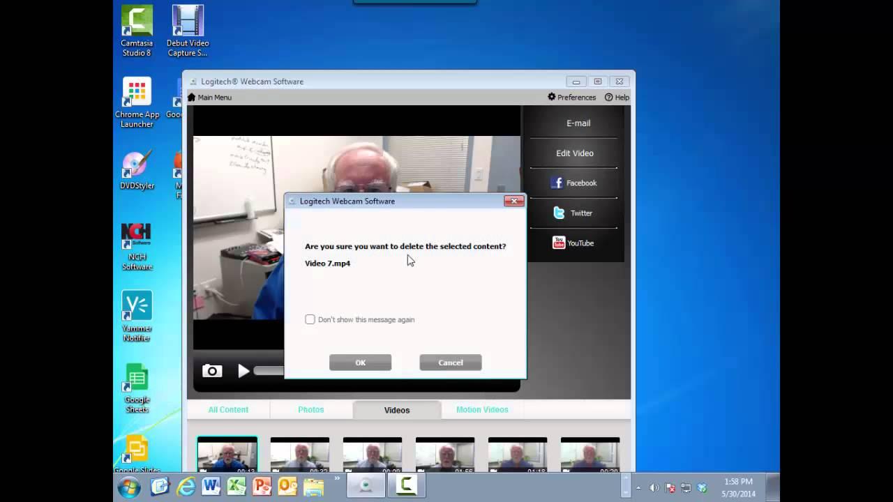 Webcam recording software for vista