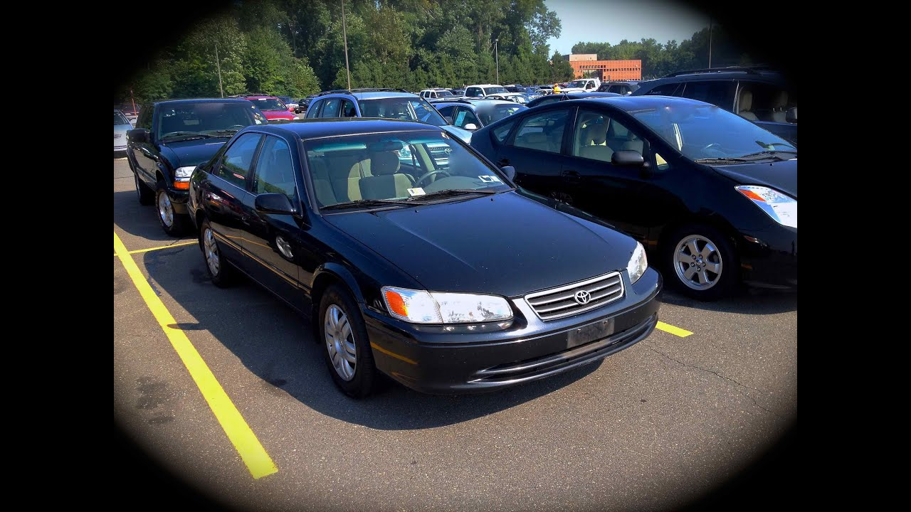 2000 Toyota Camry Le 2 2l Start Up Quick Tour Amp Rev With