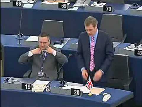 Farage exposes euro-nationalist, communist government of Europe