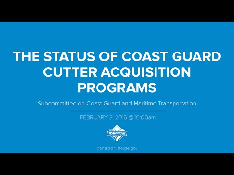 The Status of Coast Guard Cutter Acquisition Programs