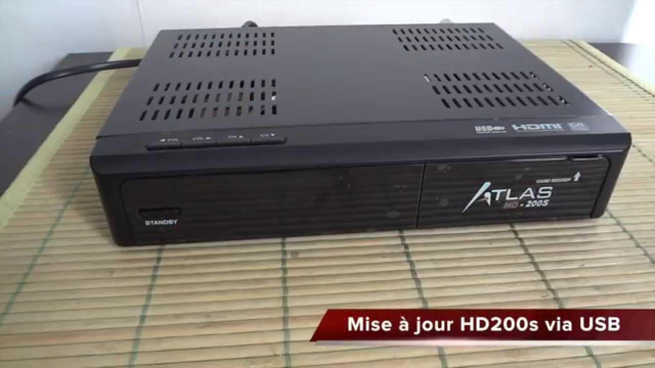 MISE A JOUR HD 200SE ATLAS F301 TÉLÉCHARGER