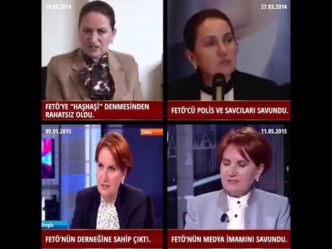 Meral akşener'den Feto'ya açık destek Fethullah Gülen'in siyasi ayağı Meral Akşene