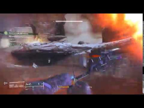 Destiny 2 Warlock attacks mars