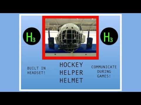 Introducing the Hockey Helper Helmet!
