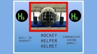 Introducing the Hockey Helper Helmet!