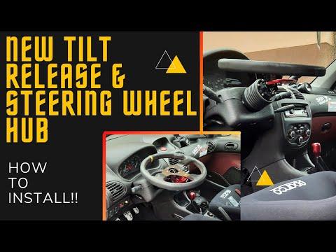 HOW TO INSTALL!! NEW TiLT release & wheel HUB Peugeot 206!